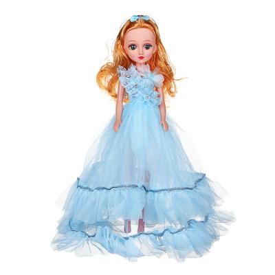 ИГРОЛЕНД Кукла классическая в пышном платье, 35-45см, пластик, полиэстер, 4-8 цветов - 1