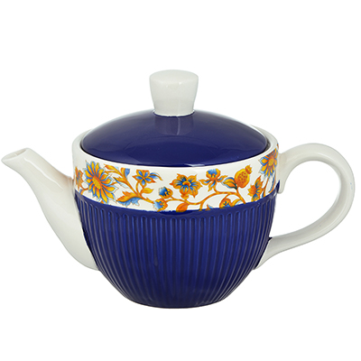 "Чайник заварочный 830 мл, керамика, MILLIMI ""Ноктюрн"" - 1"