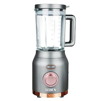 Блендер-стакан LEBEN 1200 Вт, 1,8 л, 3скорости, стекло 269-026 - 1