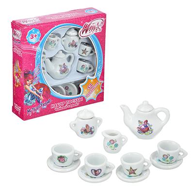 Набор керамической посуды для кукол, 11пр., керамика, 14х4х15см - 1