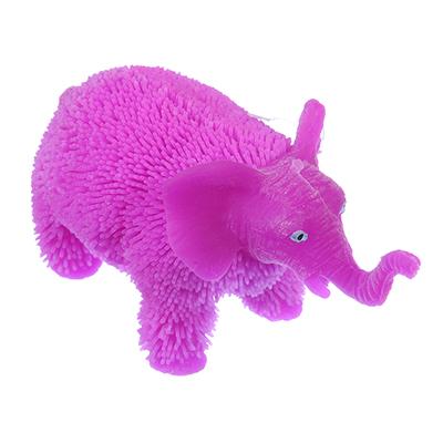 """LASTIKS Игрушка резиновая """"Пушистик"""" в виде животного, свет, 8-11х8-9см, резина, 4-8 дизайнов - 1"""