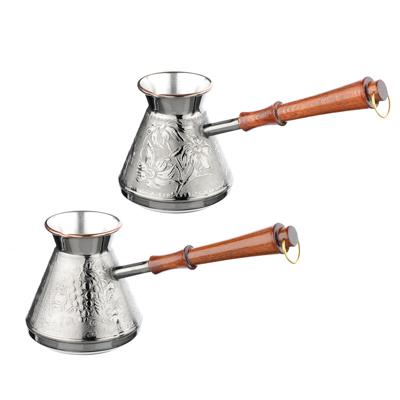 Vetta турка для кофе 540 мл медная, 2 дизайна - 1