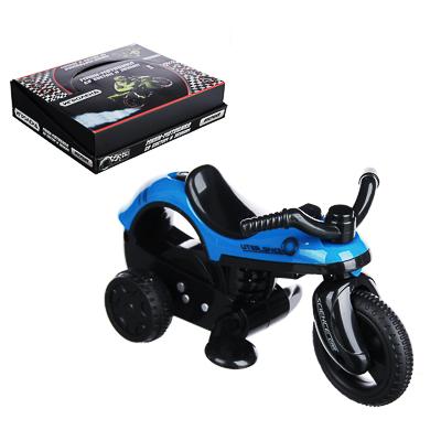 ИГРОЛЕНД Мини-мотоцикл, инерция, свет, звук, пластик, 14х8х6см, 4 дизайна - 1