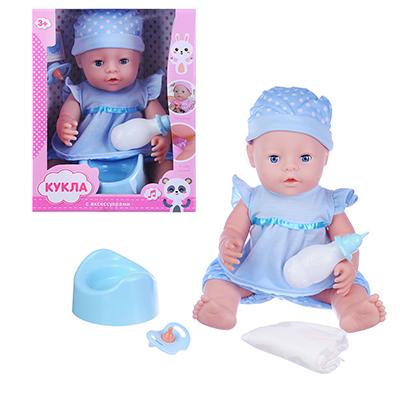 ИГРОЛЕНД Кукла функциональная с аксессуарами,30см,3хAG13, пластик, полиэстер, 25х33х12см, 2 дизайна - 1