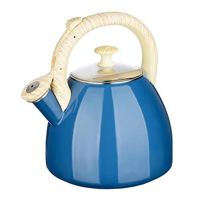 Чайник 2,5 л VETTA Глянец, эмалированный, синий, индукция - 1