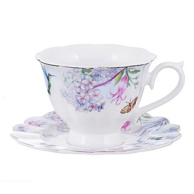 Чайный сервиз 12 предметов MILLIMI Арлетт 220мл, костяной фарфор - 1