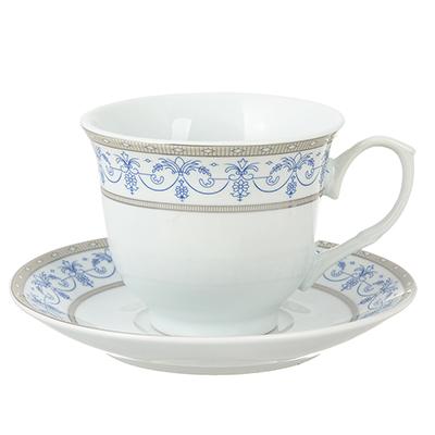 Чайный сервиз Сальса 12 пр., 220мл, фарфо - 1