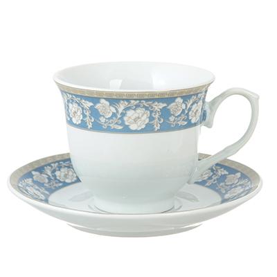 Чайный сервиз 12 предметов Савойя 220мл, фарфор - 1