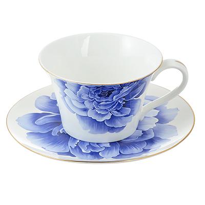 Чайный сервиз 12 предметов MILLIMI Виолета 270мл, костяной фарфор - 1