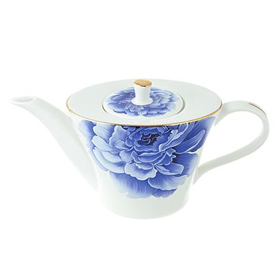 Чайник заварочный MILLIMI Виолета 650мл, костяной фарфор - 1