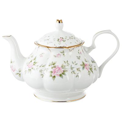 Чайник заварочный MILLIMI Вуаль 1250мл, костяной фарфор - 1