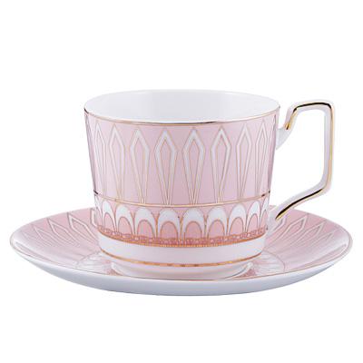 Чайный сервиз 4 предмета MILLIMI Восторг 260мл, костяной фарфор - 1