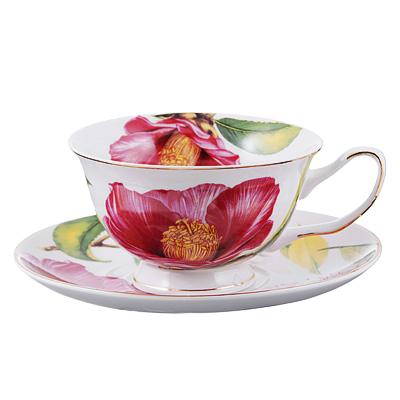 Чайный сервиз 12 предметов MILLIMI Вдохновение 220мл, костяной фарфор - 1