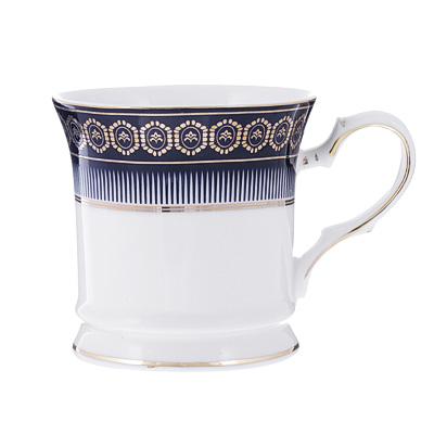 Набор кофейных кружек 2 предмета MILLIMI Адмирал 200мл, костяной фарфор - 1