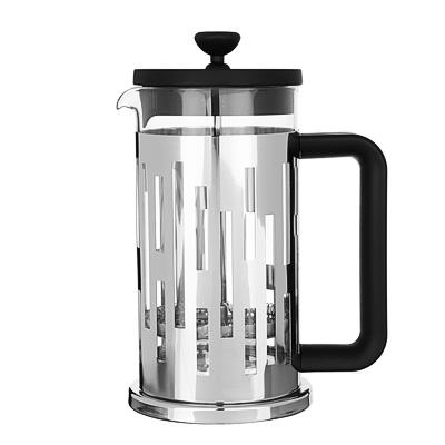 SATOSHI Рейн Френч-пресс 600мл, жаропрочное стекло, нерж.сталь - 1
