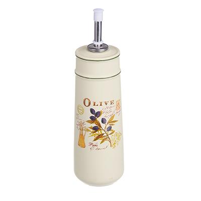 MILLIMI Вилладжио Бутылка для масла и уксуса с дозатором, 320мл, 6,5х22см, керамика - 1