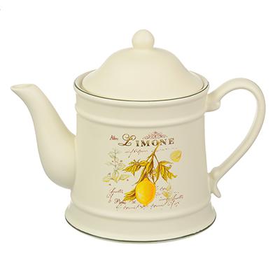 MILLIMI Вилладжио Чайник заварочный, 900мл, 21,5х13х17см, керамика - 1