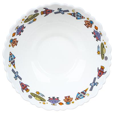 MILLIMI Бабуся Ягуся Тарелка суповая 15см, опаловое стекло - 1
