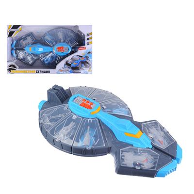 ИГРОЛЕНД Межпланетная станция  с боевым отрядом, звук, 3AG13, пластик, 24х41,5х8см - 1