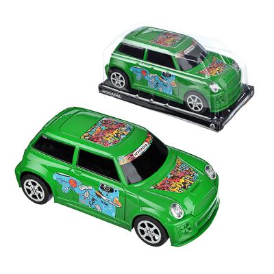 ИГРОЛЕНД Машина городская, инерция, пластик, 17х8х6см, 3 цвета - 1