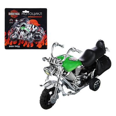 BY Мотоцикл, инерция, пластик, 12х6,5х4,5см, 2 дизайна - 1