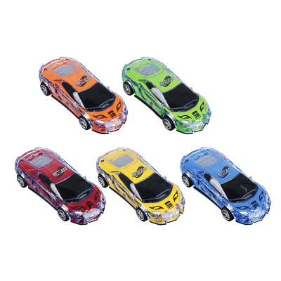 ИГРОЛЕНД Машина спорткар, пластик, свет, звук, инерция, 3хAG13, 6,5х16х3,5 см - 1