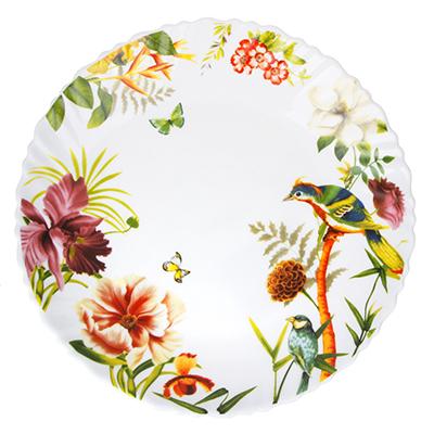 MILLIMI Рио Тарелка десертная опаловое стекло 21,5см, 16194A - 1