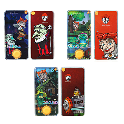 BY Пинбол водный в виде смартфона, пластик, 13,5х6,5см, 1-3 дизайна - 1