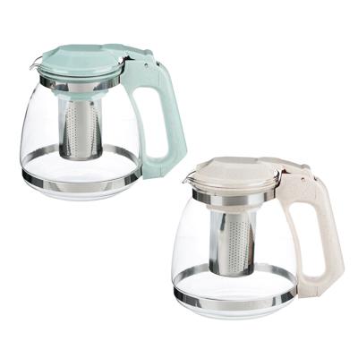 VETTA Чайник заварочный 1500мл, ситечко из нержавеющей стали, стекло, пластик, 2 цвета - 1