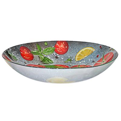 Овощи Салатник большой, стекло, 30х6см - 1