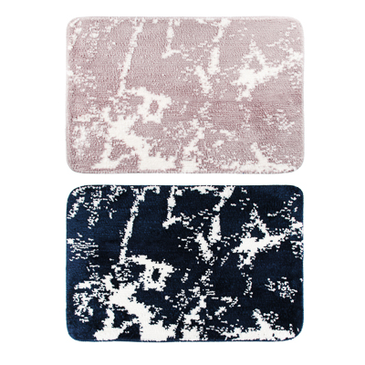VETTA Коврик для ванной, микрофибра, 50x80см, «Блик на воде», 2 цвета - 1