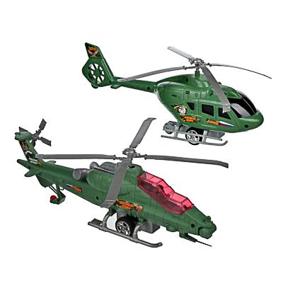 ИГРОЛЕНД Вертолет с механическим стартером, PP, 29-30х10-, 2 дизайна - 1