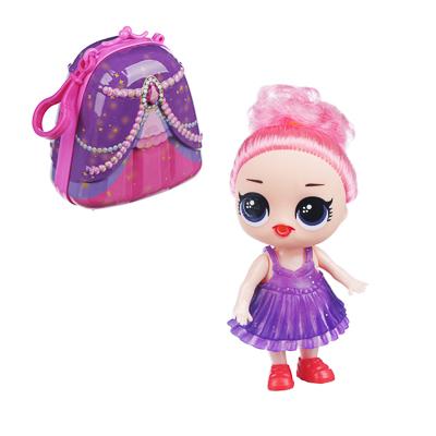 ИГРОЛЕНД Кукла сюрприз в чемоданчике 7 в 1, металл, PP, 6 дизайнов - 1