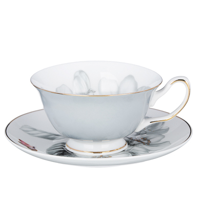 MILLIMI Иллюзия Набор чайный 12 пр., 220мл, костяной фарфор - 1