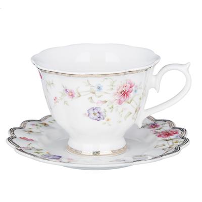 MILLIMI Антуанетта Набор чайный 12 пр., 220мл, костяной фарфор - 1