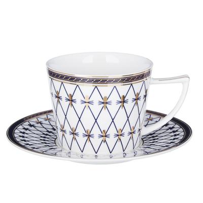 MILLIMI Монте-Кристо Набор чайный 12 пр., 250мл, костяной фарфор - 1