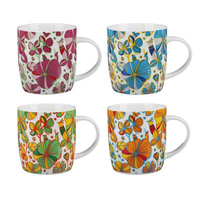 MILLIMI Вальс цветов Кружка 340мл, керамика, 4 дизайна - 1