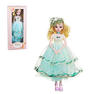 ИГРОЛЕНД Кукла коллекционная шарнирная, 60см, пластик, полиэстер, 3 дизайна - 1