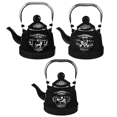 VETTA Ранчо Чайник эмалированный 1,1 л, 3 дизайна, индукция - 1