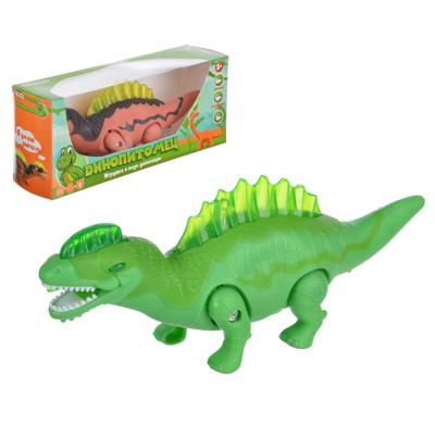 ИГРОЛЕНД Игрушка в виде динозавра, звук, свет, движение., ABS, 3АА, 24х10х6см, 4 дизайна - 1