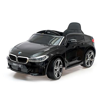 "Электромобиль ""BMW 6 Series GT"", 106х64х51см, пластик, EVA колеса, кожа, черный - 1"