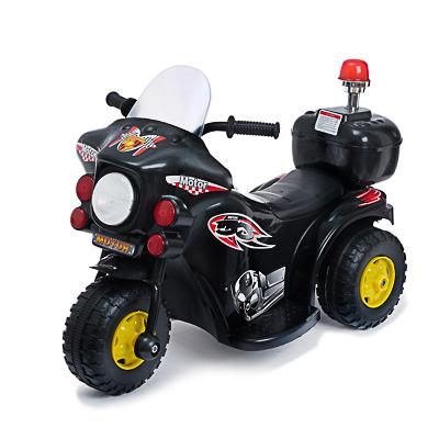 "Электромобиль ""Мотоцикл шерифа"", 82х37х52см, пластик, черный - 1"