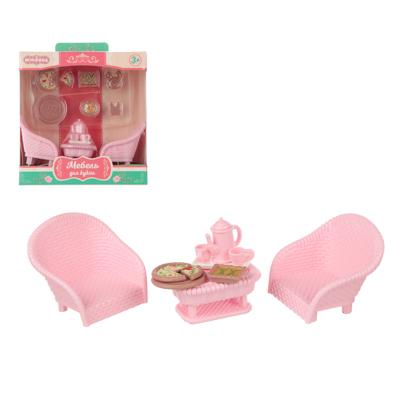 ИГРОЛЕНД Набор мебели для кукол, ABS, 13,5х14,2х7,3см, 6-8 дизайнов - 1