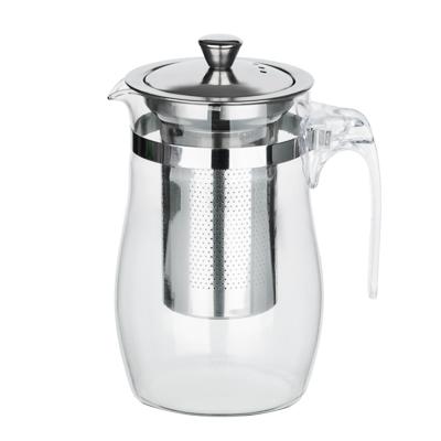 VETTA Чайник заварочный 750мл с ситечком, нерж.сталь, стекло, полистирол - 1