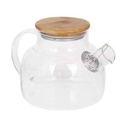 VETTA Чайник заварочный 1000мл, с металлическим фильтром, стекло - 1