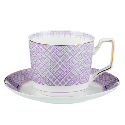 MILLIMI Арлекин Набор чайный 4 пр., 260мл, 15см, костяной фарфор - 1