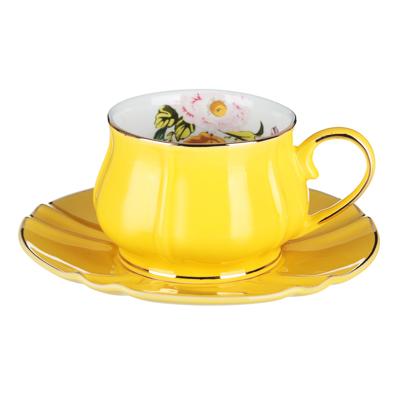 MILLIMI Тюльпан Набор чайный 12 пр., 220мл, 15см, костяной фарфор - 1