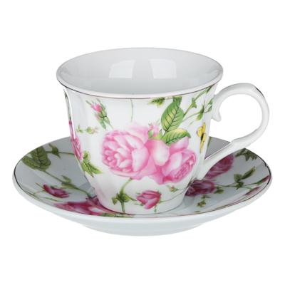 Арина Набор чайный 12 пр., 220мл, 14 см, фарфор - 1
