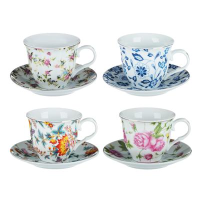 Весенний аромат Набор чайный 2 пр., 220мл, 14см, фарфор, 4 дизайна - 1