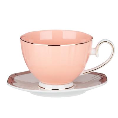 MILLIMI Мираж Набор чайный 12 пр., 260мл, 14см, костяной фарфор - 1